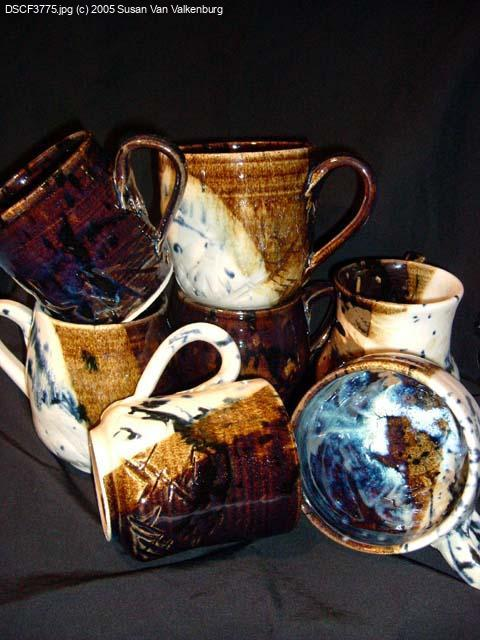 [Large mugs ranging from �8 to �15 each.]